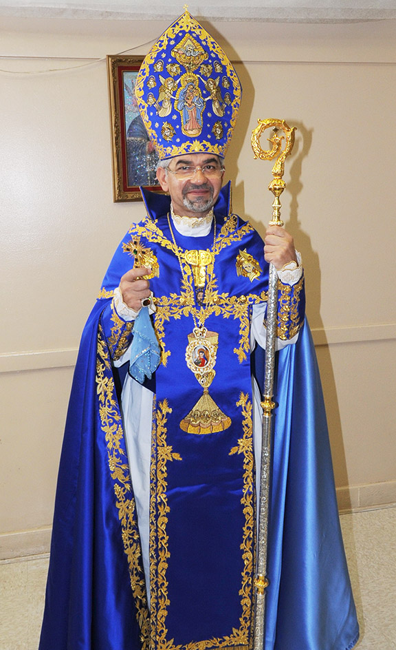 Western Prelate Archbishop Moushegh Mardirossian